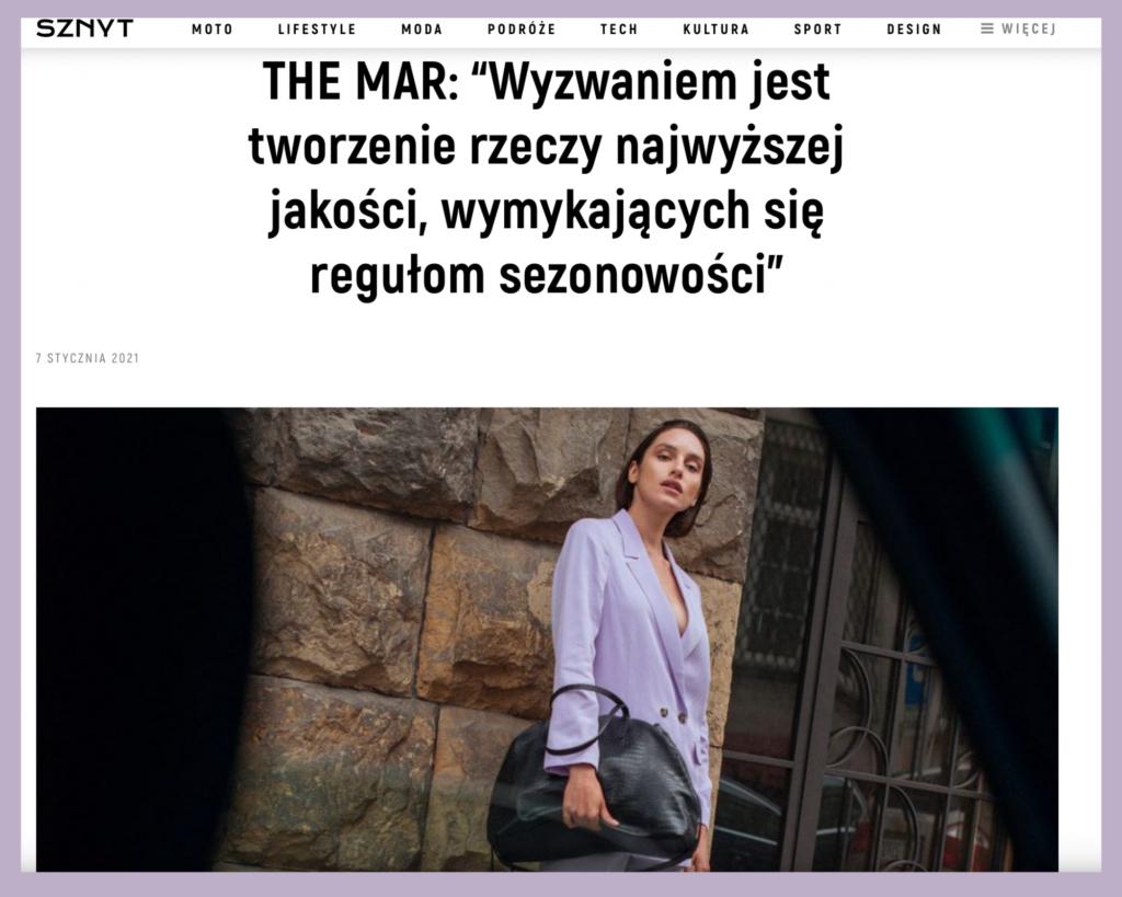 Artykuł w Sznyt.pl