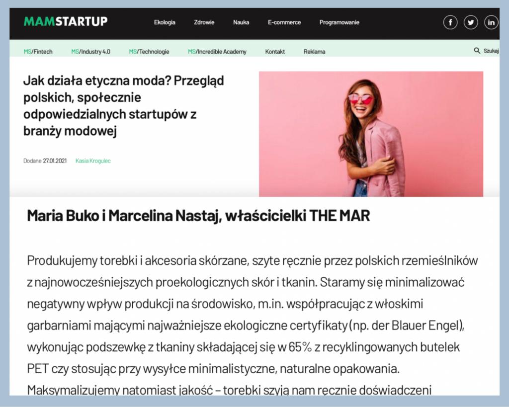 Przegląd marek MamStartup