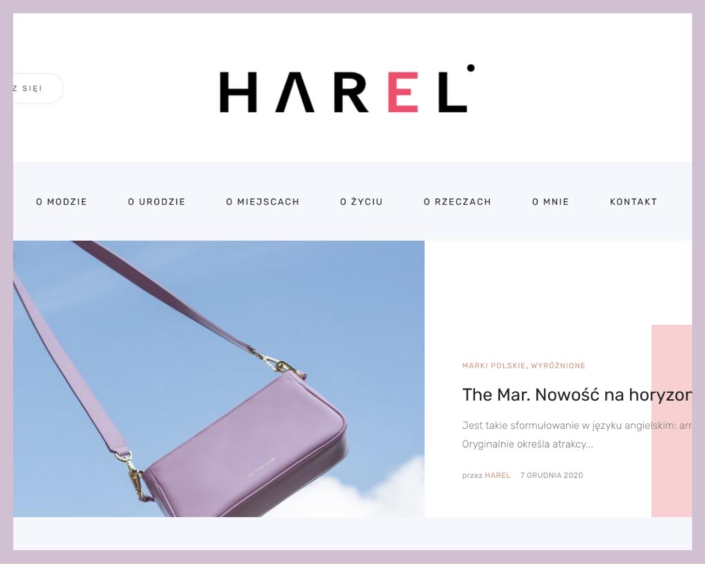 Link do bloga Harel